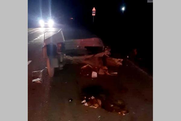 В Азовском районе оторвавшийся от машины прицеп спровоцировал аварию с тремя пострадавшими
