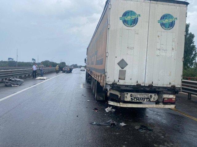На Южном подъезде к Ростову произошла смертельная авария.