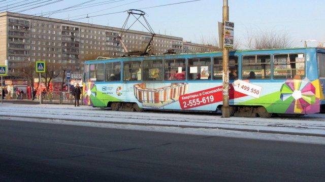 Для Красноярска закупят 19 новых трамваев