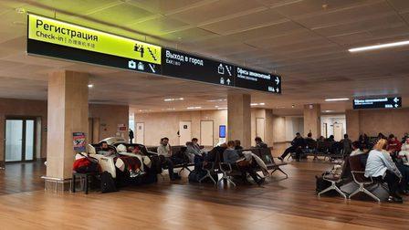 Пассажиры совершившего аварийную посадку в Красноярске Boeing 767 вылетели в Москву резервным бортом