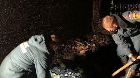 Детей не удалось спасти на пожаре в иркутской деревне