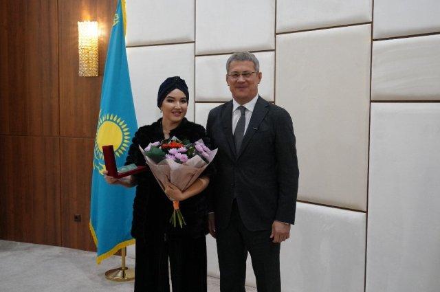 Ведущая солистка театра «Астана Опера» получила звание Народной артистки Башкортостана