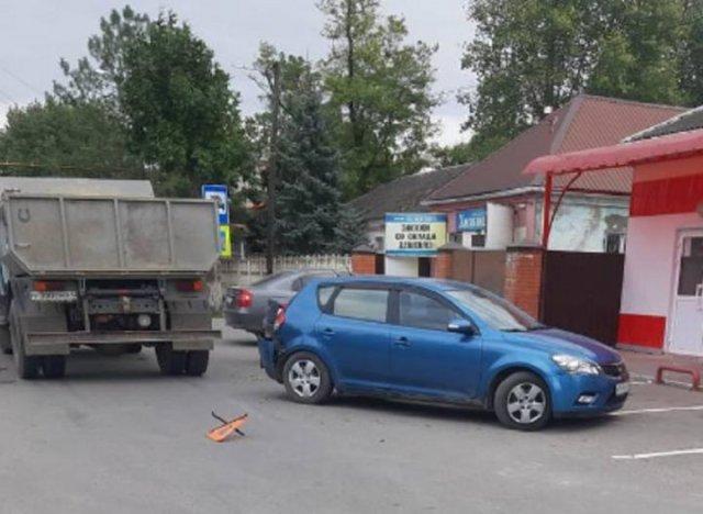В селе Самарское Азовского района в ДТП пострадал ребенок