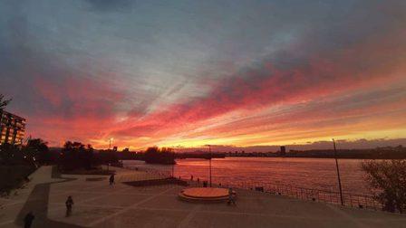 Мэр Красноярска показал пейзажи с новой набережной на правом берегу