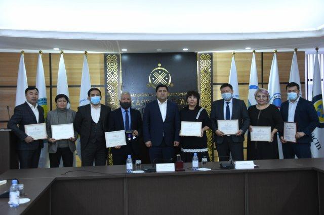 В Нур-Султане наградили активных членов профсоюза